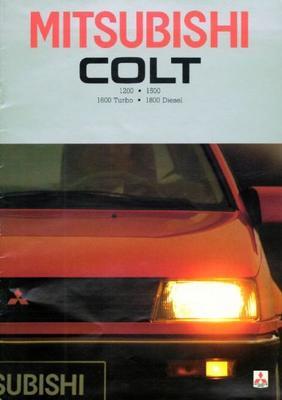 Mitsubishi Colt El,gl,glx,eld,gld,turbo