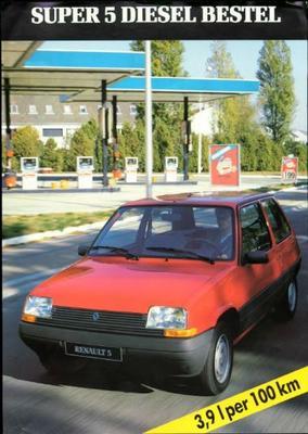 Renault 5 Diesel Bestel,td