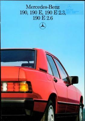 Mercedes-benz 190 E,e 2.3,e 2.6