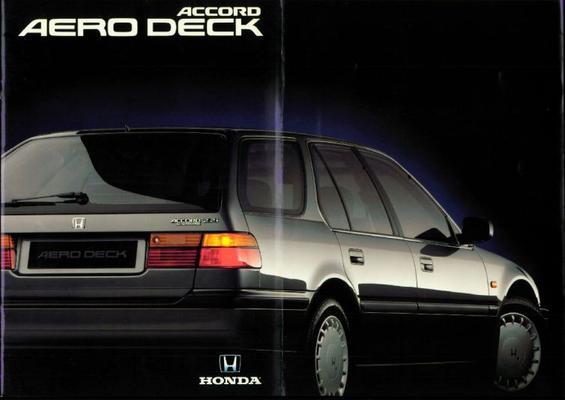 Honda Accord Aero Deck