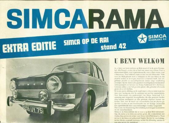 Simca Special, Tourist Special 1100,1501,1000ls,13