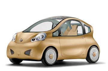 Elektrische Nuvu Concept van Nissan