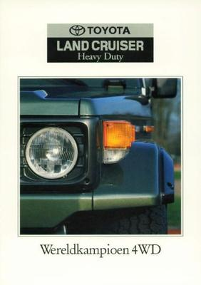 Toyota Landcruiser Heavy Duty