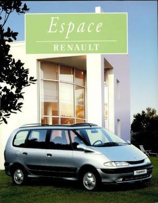 Renault Espace Rl,rn,rt,rxe,rte,rxt
