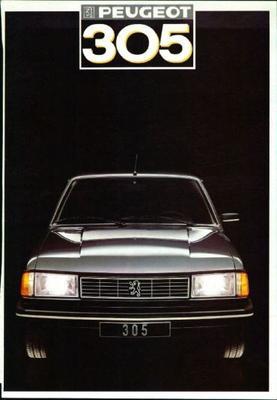 Peugeot  305 Gl,gld,gr,sr,gtx