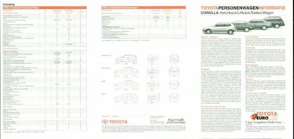 Toyota Corolla Sedan,wagon,hatchback,liftback,1.3,