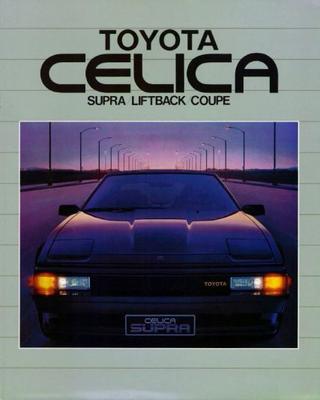 Toyota Celica Supra,liftback Xt,gt,coupe