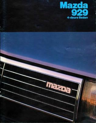 Mazda 929 Sedan Dx,ltd