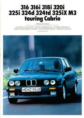 BMW Touring Cabrio 316,316i,318i,320i,325i,324d,32