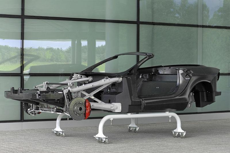 Nieuwe McLaren terug naar tekentafel