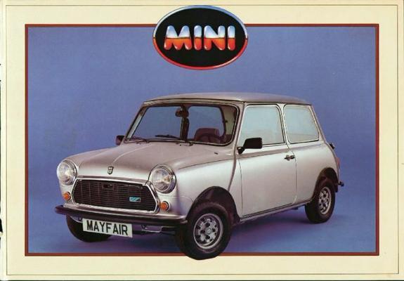 Austin Mini Mayfair,mini E,mini Hle Mayfair,e,hle