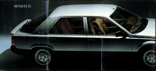 Renault 25 Ts,gts,td,gtd,turbo D,gtx,v6 Injection