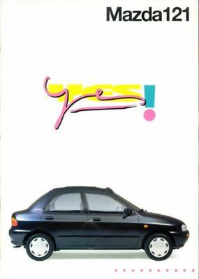 Mazda Yes,yooh 121