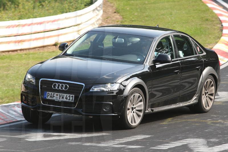Spionage: Audi A4 Allroad