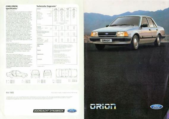 Ford Orion L,gl,injection