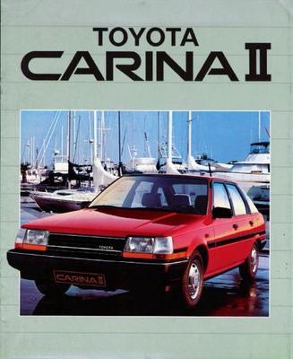 Toyota Carina Ii Sedan,gl
