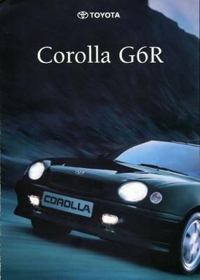 Toyota Corolla G6r,1.6i,