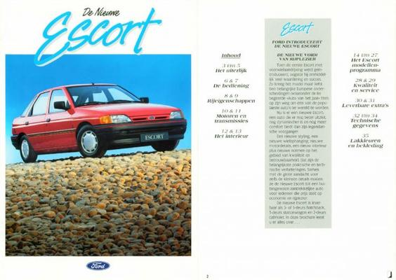 Ford Escort,cabriolet Ghia,s,clx,xld,cl