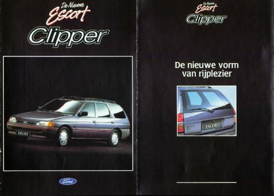 Ford Escort,clipper Cl,xld,clx