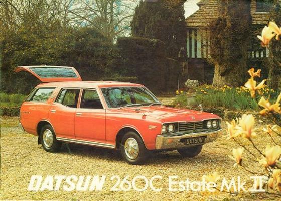 Datsun Estate 260c Mkii