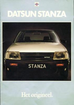 Nissan Datsun Stanza 1600l,1600gl,1800gl,aut,sgl