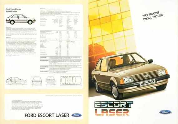 Ford Escort Laser Sr13