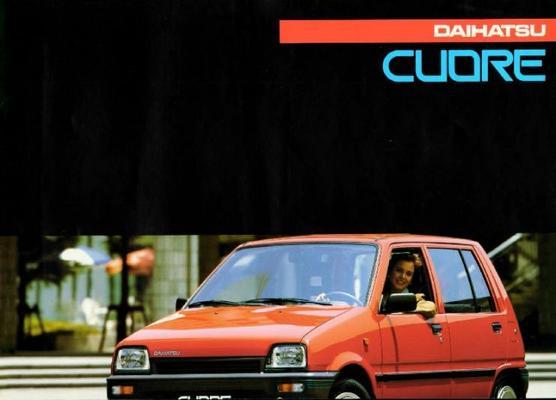 Daihatsu Cuore Tg,ts,cs,aut,tx