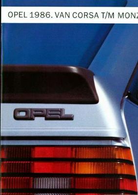 Opel Van Corsa Tot Monza