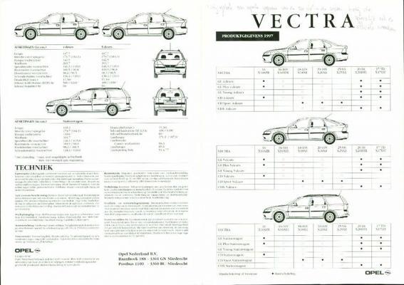 Opel Vectra Gl,cd,cdx