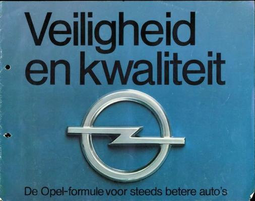 Opel De Opel Formule Divers