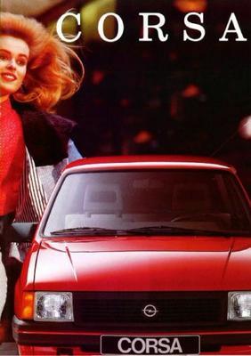Opel Corsa Gl,gt,gsi.