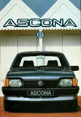 Opel Ascona Sr,cd