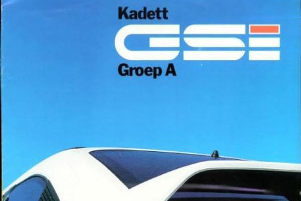 Opel Kadett Gsi Groep A