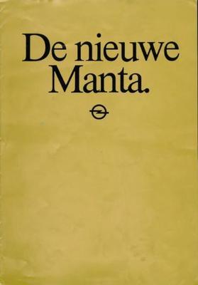 Opel Manta Gt-j,gt-e