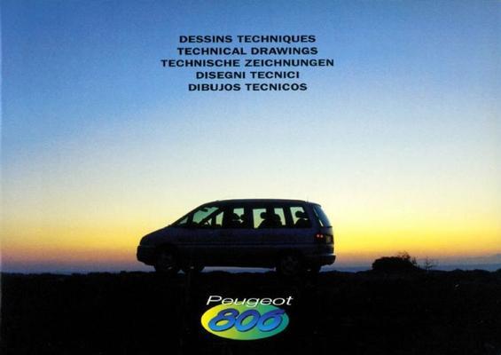 Peugeot 806 Sv,st