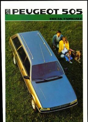 Peugeot 505 Break,familiale Gl,gld,gr,grd,gti,gtdt