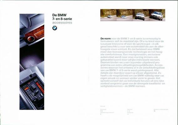 BMW 7 En 8 Serie