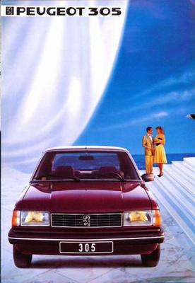 Peugeot  305,sedan,gl,gld,gr,grd,gt