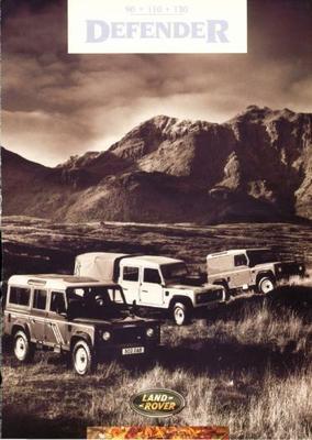 Land Rover Defender 90.110.130