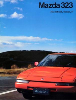 Mazda Hatchback,sedan 323 F
