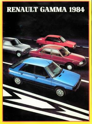 Renault 4,5,alphine Turbo,9,11,18,fuego,20,30,dies