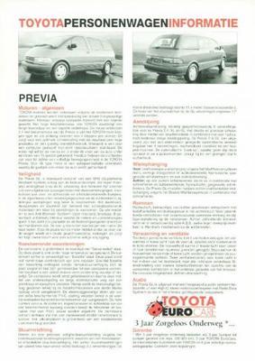 Toyota Picnic Xl,gl