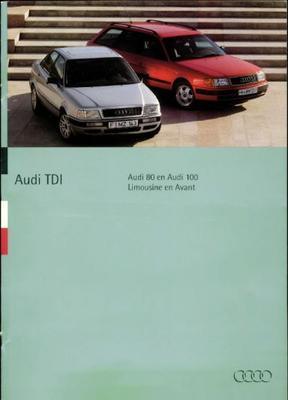 Audi 80,100,cabriolet Limousine,avant,avant Tdi,td