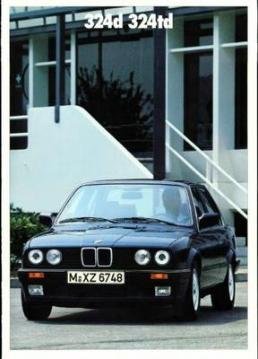 BMW 324d,324td