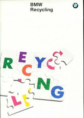 BMW Informatie Over Recycling