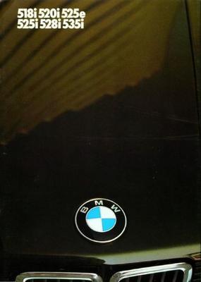 BMW 518i,520i,525e,525i,528i,535i