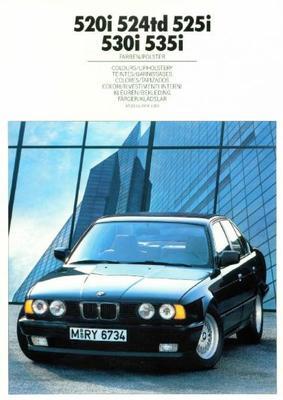 BMW 520i,524td,525i,530i,535i