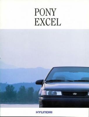 Hyundai Pony Excel ,l,ls,gs,aut
