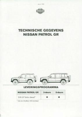 Nissan Patrol Gr 2.8lx Turbo Diesel