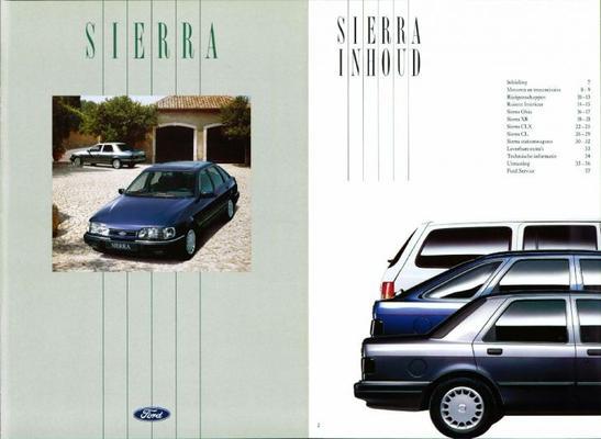 Ford Sierra,stationwagon Ghia,xr 4x4,clx,cl